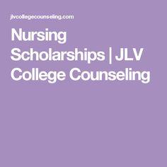Nursing Scholarships | JLV College Counseling