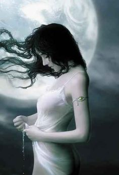 Arianrhod - moon goddess - A free spirited Goddess who is not prepared to bend to any one's expectations of her