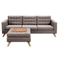 Nyekoncept Mina Sofa Set Aluminium Gray - 223375-A