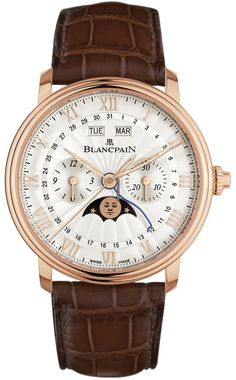 Blancpain Villeret Single Pusher Chronograph Complete Calendar