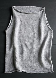 Laura's Loop: Tulip TankTop - Purl Soho - Knitting Crochet Sewing Embroidery Crafts Patterns and Ideas!