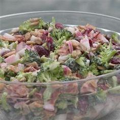 Kecia's Broccoli Salad Recipe