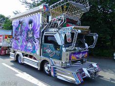 イメージ 3 Show Trucks, Big Rig Trucks, Truck Art, Custom Trucks, Buses, Japanese Art, Hanging Out, Transportation, Classic Cars