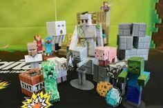 Minecraft Mini-Figure Zombie pigman-Utilisé Avec O boîte d/'origine