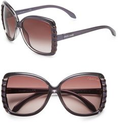 cc38883dbf11e Love this  Oversized Square Stripe Sunglasses  Lyst Gucci