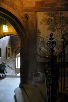 Staircase, Bamburgh Castle, Northumberland