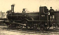 Stirling images by Stirling at Kilmarnock Works for G&SWR Train Car, Train Tracks, Old Trains, Vintage Trains, Holland, Steam Railway, Diesel, British Rail, Train Engines