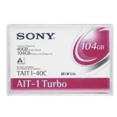 Sony 1pk AIT-1 Turbo w/MIC ( TAIT1-40CWW ) by Sony. $51.47. Sony is pleased to offer a new Advanced Intelligent Tape (AIT) family AIT Turbo enhancing both capacity and speed of earlier generations while delivering the same highly reliable industry leading 8mm AIT format and technology. AIT Turbo series offers capacities from 20GB to 40GB native and 52GB to 104GB pressed for effective cost performance. AIT Turbo reflects technical excellence which Sony has proven with its relia...