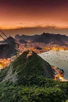 By Juan Carlos Ruiz  The amazing view of Rio de Janeiro from the Sugarleaf (Päo de Açucar) Brazil