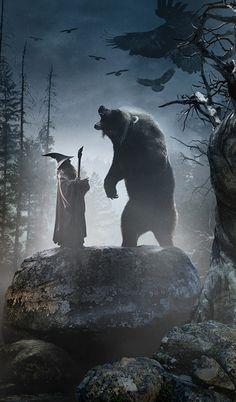 They better have Beorn in the movie. PLLLLLEEEEEAAAAASSSSSEEEEE!!!
