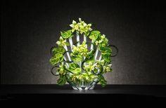 Peacock is a test tube-filled flower vase designed to host dynamic floral arrangements. Tropical Flower Arrangements, Tropical Flowers, Flower Vase Design, Flower Vases, Peacock Artwork, My Flower, Home Gifts, Floral Wreath, Bloom