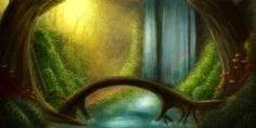 fairy forests | Fairy Forest by *Raederly on deviantART