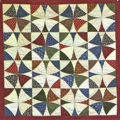 Janet T's wheel of mystery, SM quilt guild