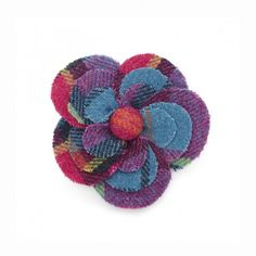 Flora Tweed Brooch - Gifts from Ness Clothing