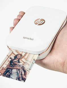 HP Sprocket Photo Printer Prints On ZINK Photo Paper