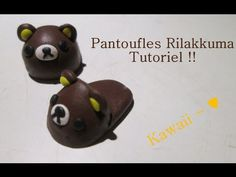[TUTO] Pantoufles Rilakkuma Fimo ! ♥ - YouTube