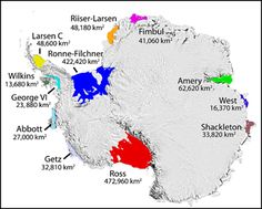 """Manufactured PANIC: projected Antarctic ice shelf melting """"may surpass intensities associated with ice shelf collapse"""" George Vi, Aviation Charts, Antarctic Ice Shelf, Einstein, Ice Sheet, Area Map, Nautical Chart, About Climate Change, Star Chart"""