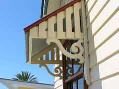 Colonial and Post War Style Window Awnings