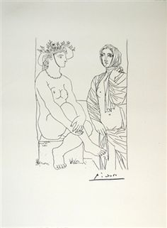 Pablo Picasso – Suite Vollard #4 Lithograph By Pablo Picasso