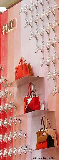 Fendi Boutique Display | House of Beccaria#