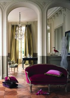 Apartment in Paris.