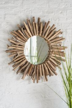 Ivory Pearl, Wooden Furniture, Rattan, Sea Shells, Caribbean, Make It Yourself, Mirror, Branches, Design