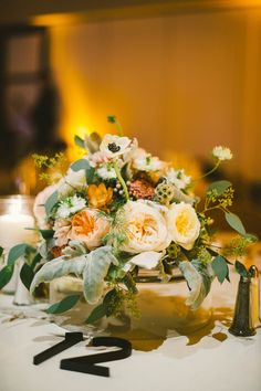 A colourful and romantic bouquet. Photo by Emily Blake Photography.