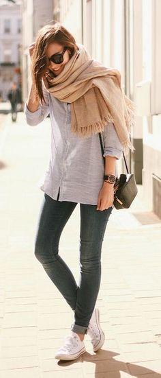 #street #fashion fall oversized scarf @wachabuy