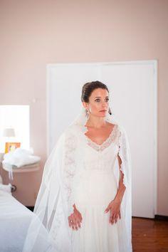 Robe Celestina Agostino, vrai mariage, Ibiza || Ibiza Wedding, Celestina Agostino gown || www.desideespourunjolimariage.com
