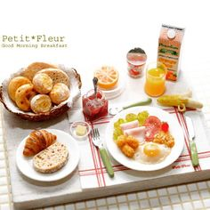 ♡ ♡ Miniature breakfast