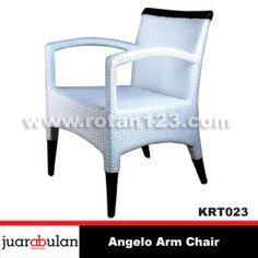 Angelo Chair Kursi Rotan Sintetis KRT023