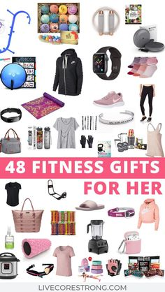 This is the ultimate gift guide for her, the fitness lover. Over 50 gift ideas for the fit girl who loves everything health and fitness. Find the best gift ideas for women who love to workout. Perfect list of ideas for a holiday gifts, Christmas gift, Mother's Day gift, Birthday gift and Anniversary gift. Let's start shopping! Click for full descriptions. #giftideasforher #girlgiftideas #giftideasfitnesswomen #giftideasforfitnesslovers #giftguideforher #2020 #giftguideformom #giftideasformom Hard Workout, Intense Workout, Holiday Gift Guide, Holiday Gifts, Women's Health, Health Tips, Fun Workouts, At Home Workouts, Gifts For Women