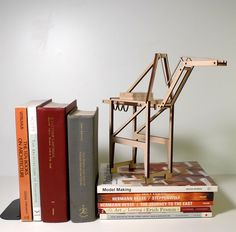 Oakland Crane model. $40.00, via Etsy.