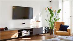 modern stílusú nappali design stílusú luxus apartman, magyar nyaraló, skandináv otthon dizájn Loft Design, Modern, Flat Screen, Loft