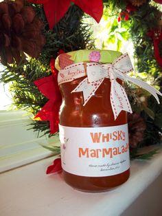 Whisky Marmalade yummy! great Christmas hamper gift