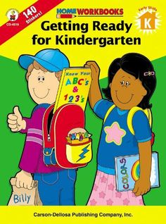 Getting Ready For Kindergarten (Home Workbooks) by Carson-Dellosa Publishing. $3.49. Reading level: Ages 5 and up. Series - Home Workbooks. Publisher: Carson-Dellosa Publishing (February 17, 2002). Publication: February 17, 2002