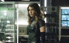 Download wallpapers Dinah Drake, superhero, Juliana Harkavy, police detective, Legends of Tomorrow