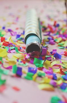 Confetti cannons.... Fill them with hard to get off glitter and fire at enemies.