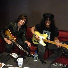 Slash & Dean Deleo
