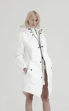 I am obsessed with Tyvek!  Must have this paper parka...