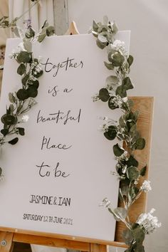 Together is a Beautiful Place To Be | by Romy Lawrence Photography | Summer Wedding | Pastel Wedding Colours | Lilac Wedding Flowers | Lilac Bouquet | White Bridesmaid Dresses | Wedding Sign | Wedding Decor | Eucalyptus Wedding Decor | Contemporary Wedding Sign Lilac Wedding Flowers, Pastel Wedding Colors, Rustic Wedding Signs, Wedding Signage, Post Wedding, Summer Wedding, Diy Wedding, Wedding Decor, White Bridesmaid Dresses