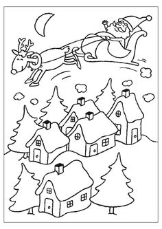 Christmas coloring pages to print …a ton plus links to other color page sites! Make your world more colorful with free printable coloring pages from italks. Our free coloring pages for adults and kids. Coloring Pages To Print, Free Printable Coloring Pages, Coloring Book Pages, Coloring Pages For Kids, Free Coloring, Christmas Colors, Kids Christmas, Christmas Coloring Sheets, Christmas Embroidery Patterns