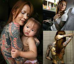 tattoo mommy and daughter of yakuza boss