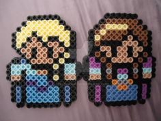 Anna and Elsa by PerlerHime on DeviantArt