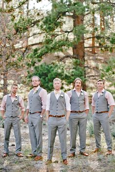 Rustic Groom Attire For Country Weddings ❤ See more…