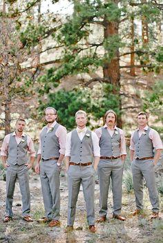 Rustic Groom Attire For Country Weddings ❤ See more: http://www.weddingforward.com/rustic-groom-attire/ #weddings More