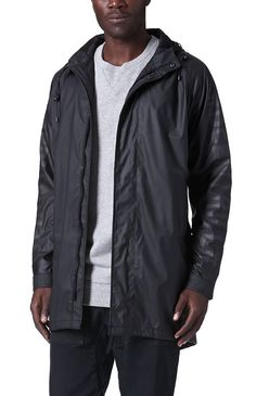 PacSun presents the Been TrillParka Jacket for men. This unique men's parka jacket comes with a solid body, Been Trill graphics throughout, and zippers on the front and back.Solid parka jacket with Been Trill graphics throughoutMatching hood with bungee drawstringsZipfrontFront hand pocketsMachine washable100% polyurethaneImported