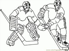 Free Hockey players coloring pages Sports Coloring Pages, Flag Coloring Pages, Adult Coloring Pages, Hockey Helmet, Hockey Puck, Hockey Players, Coloring Pages Inspirational, Bra Video, Illustration Art Drawing