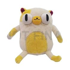 Adventure Time 7-Inch Fan FavoriteCake Plush ($12) ❤ liked on Polyvore featuring plushie