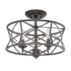 Industrial lighting allure is yours with Millennium Lighting Lakewood. The…
